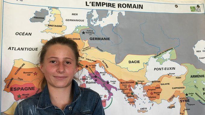 Une latiniste distinguée dans un concours national ! Gratulationes !